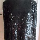 Valerie Stevens Pure Silk Beaded Sequined Dressy Cocktail Blouse Top Womens 12