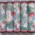 Lot 5 Sunworthy Strawberries Strawberry Prepasted Wallpaper Border DM12187 New