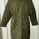 Cyclone D'Hiver Winter Club Cape Top Down Puffer Parka Jacket Coat Womens sz 16