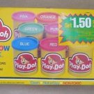 Brand New Sealed Vintage 1986 Kenner Play-Doh Rainbow 8 Pack Modeling Clay NOS