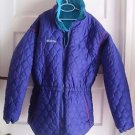 Columbia Reversible 2 in 1 Quilted Nylon Winter Parka Jacket Coat Girls 18 20
