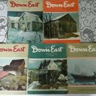 Vintage 70's Lot of 4 Downeast The Magazines of Maine Back Issues 1974