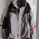 Columbia Vertex Youth Kids Boys Winter Snow Shell All Weather Jacket 18 20 Gray