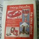 "Mary Maxim Idea Place 15"" Christmas Musical Gazebo Plastic Canvas Kit 77015 USA"