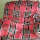 Scottish Export House Royal Stewart Tartan Mohair Throw Stadium Rug Blanket Wrap