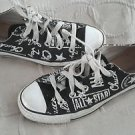 Converse All Star Chuck Taylor Graffiti Logo Signature Sneakers Shoes Mens 4 W 6
