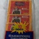 Vtg 60 Disney/Panini Hunchback of Norte Dame Album Stickers/Autocollants Fleer