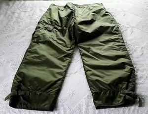 Alpha Industries Military Extreme Cold Impermeable Trousers Pants Mens L 35-38