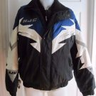 HJC Cirolux Snowgear Double Zip Colorblock Ski Snowmobile Parka Jacket Mens sz M