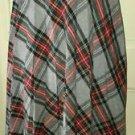 Booth Bay Tartan Scotch Plaid Pleated Skirt Womens 10 Elastic comfort Waistband