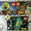 2001 Lot of 3 Vintage Legos Legoland Catalogs
