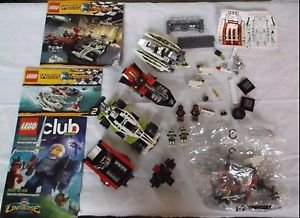 Lego World Racers 2 Sets 8897 8898 RETIRED Complete ? Minifigures Instructions