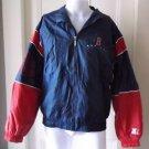 Vtg Boston Red Sox Genuine Starter Full Zip Up Windbreaker Spring Jacket L MLB