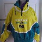 Vintage Head Sportswear Entrant Colorblock Anorak Puffer Ski Winter Jacket 10