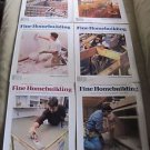 Fine Homebuilding Back Issues Magazines Lot of 6 Entire Year 1999 DIY Remodeling