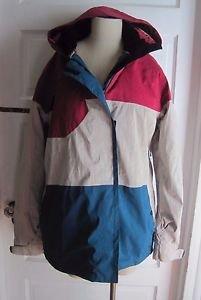 Liquid Venture 8K Board Series Snowboard Ski Parka Jacket Womens XL Silver Cloud