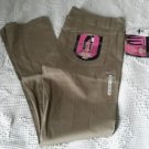 Dickies Girls 5 Pocket Classic Skinny Pants Low Rise Khakis womens 9 HH164 Tan