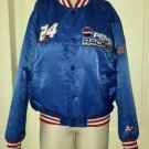 Vintage Chase #24 Pepsi Racing GEM Gordon Evernham Satin Snap Jacket Womens L