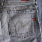 VINTAGE Womens CITIZEN OF HUMANITY Ingrid #002 Low Waist Flair Stretch Jeans 31
