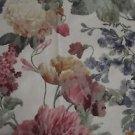 Vintage Tiffany Garden Print Fabric 15 yards Shabby Chic Tapestry Jacquard NOS