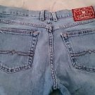 LUCKY Brand Jeans Womens 10/30 Mid Rise Flare Dungarees denim