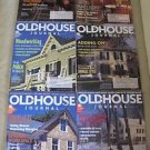 Old House Journal Back Issues Magazines Lot of 6 Entire Year 1997 DIY Remodeling