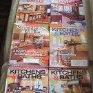 Fine Homebuilding Back Issues Magazines Lot 8 Kitchens & Baths DIY Remodeling
