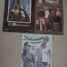 Fishermans Fashions Raglan Sweaters Knitting Manual Knit Patterns Vintage Lot 3