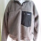 Patagonia Retro X Classic Berber Deep Pile Sherpa Fleece Jacket Mens L Gray 90s