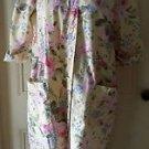 The Tog Shop Petites Housedress Nightgown Nightie Muu Muu Loungewear sz PM