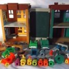 Fisher Price Little People Sesame Street Play Set  Accessories 1974 VINTAGE Xtra