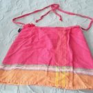 HTF The Kikoy Lamu Skirt *Petite* Wrap Sarong Cover Up womens OS One Size Kenya