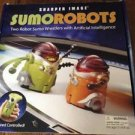 Sharper image sumorobots Lot set Pair Mat artificial intelligence remote control