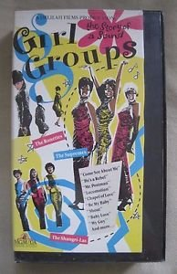 Girl Groups VHS Tape The Story of a Sound Supremes Ronettes Shangri-Las 1983
