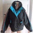 Vintage International Slazenger Down Puffer Jacket Ski Snowboard Parka Womens M