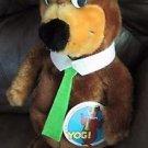 "Vintage 16"" Yogi Bear Plush Toy 1980 Stuffed Animal Hanna-Barbera Mighty Star"