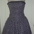 Vtg Jessica Mcclintock Strapless Party Puffy Bubble Tulle dress Womens sz 4 USA