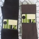 Ilux Opie Sueded Microfiber Cotina Sweater Tights Sable Chocolate Black Womens S