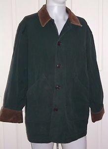 Vintage Lands' End Direct Canvas Barn Work Adirondak Coat Mens M 38 40