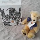 Gund Canterbury Bears Buttons Limited Edition Numbered Signed Teddy England