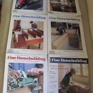 Fine Homebuilding Back Issues Magazines Lot of 6 Entire Year 2003 DIY Remodeling