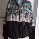 Vintage Le Coq Sportiff 90s Lined Track Windbreaker Jacket Mens Large Hip Hop