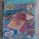 1995 Polly Pocket BlueBird Toys Sand Art Set Dial A Color Dispenser