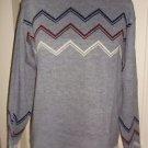 Vintage 1960's Dupont Orlon Acrylic Lord Jeff Mock Turtleneck mens Sweater L USA
