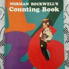 Vintage 1977 Norman Rockwell's Counting Book Abrams Glorina Taborin Hardcover HB