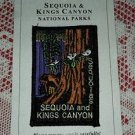 New Sequoias & Kings Canyon National Parks Patch Natural History Assoc. SNHA