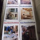 Fine Homebuilding Back Issues Magazines Lot of 6 Entire Year 1993 DIY Remodeling