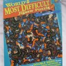 """NEW Worlds Most Difficult Jigsaw Puzzle Double Sided Butterflies 529 pieces 15"""""""