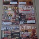 Old House Interiors Back Issues Magazines Lot 6 Entire Year 2009 DIY Remodeling