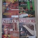 Old House Interiors Back Issues Magazines Lot 4 Entire Year 1999 DIY Remodeling